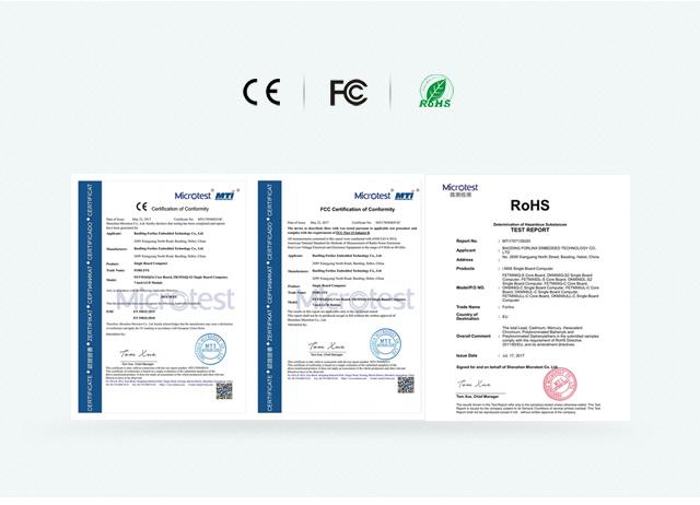 iMX6Q 通过CE FCC RoHSren证phone