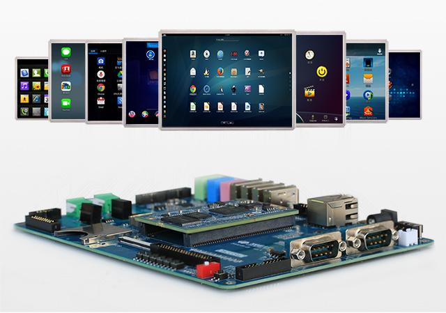 AM335x开fa板屏幕支持型号