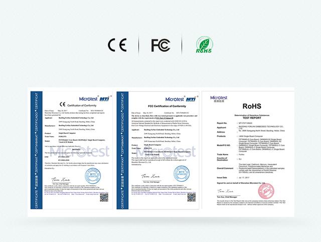 i.MX6Q 通过CE FCC RoHS认证phone