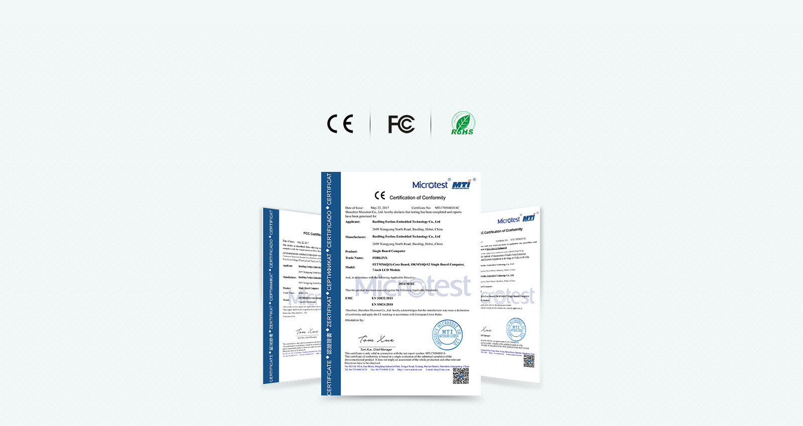 i.MX6Q通guo多种jian测认证