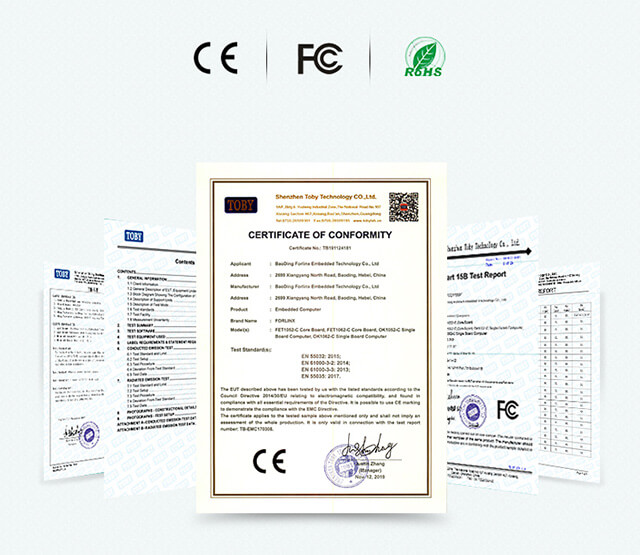 i.MXRT1052多项认证