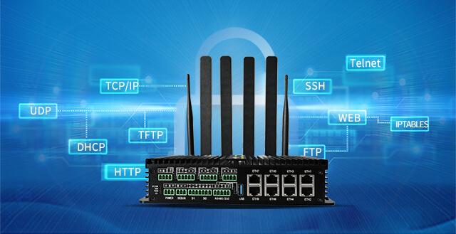 5Gzhi能网关内置多种网络通用协议