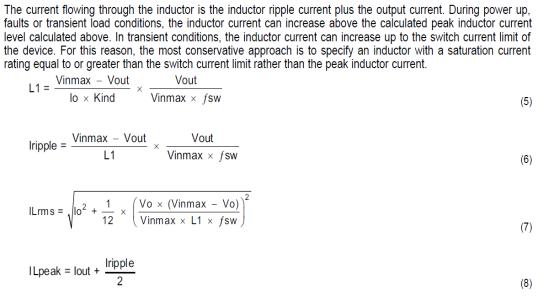 OK4418/6818电路设计中电感的选型